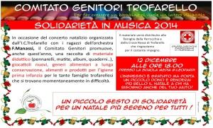 Solidarietà in musica 2014