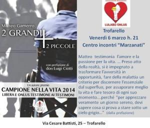 present libro Matteo Gamerro