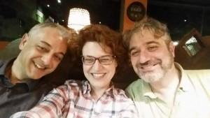 Da sx: Marco Andreoli, Sandra Pennacini, Roberto D'Uva