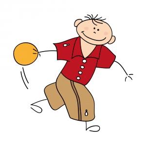 bimbo con palla