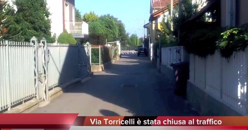 Chiusura via Torricelli