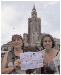 Ivana e Nunzia a Varsavia