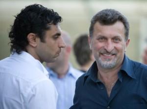 Luca Licata di LD Multimedia (sinistra) e Vito Cappa di Emporio Carta (destra)
