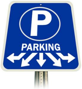 cartello parcheggio
