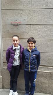 Maddalena e Leonardo 10 anni dopo la prima selezione superata.