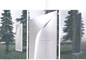 Ceppo commemorativo dedicato a Pininfarina Inaugurazione il 13 ottobre